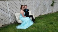 My youngest daughter and her girlfriend for prom.