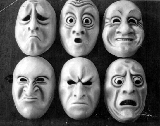 Emotionmasks insane faces